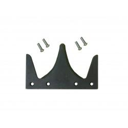 Section avec rivets longs pour coupe avancée tournesol. À monter sur tête de lame.